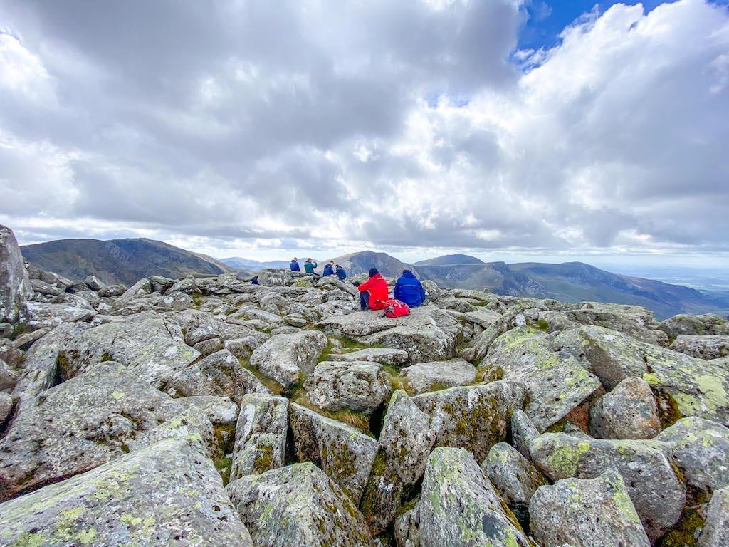 Tryfan Summit view