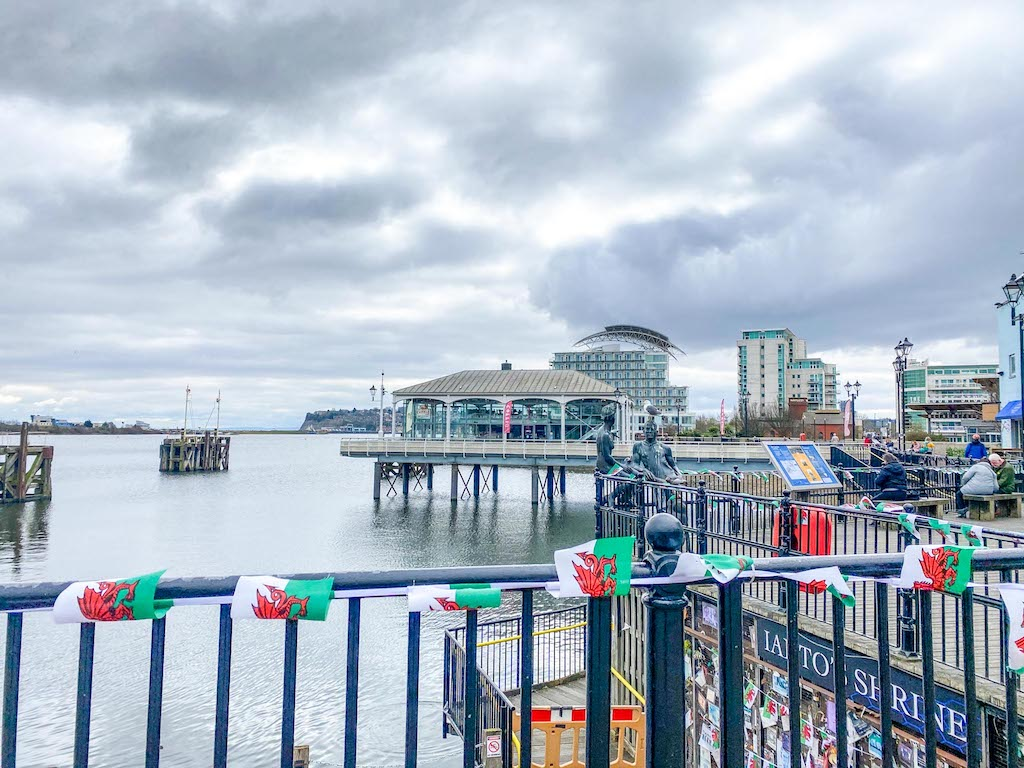 South Wales itinerary, Cardiff Bay