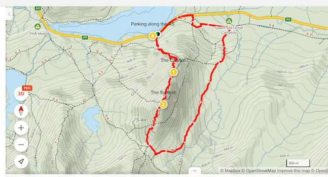Tryfan Circular Route Alltrails