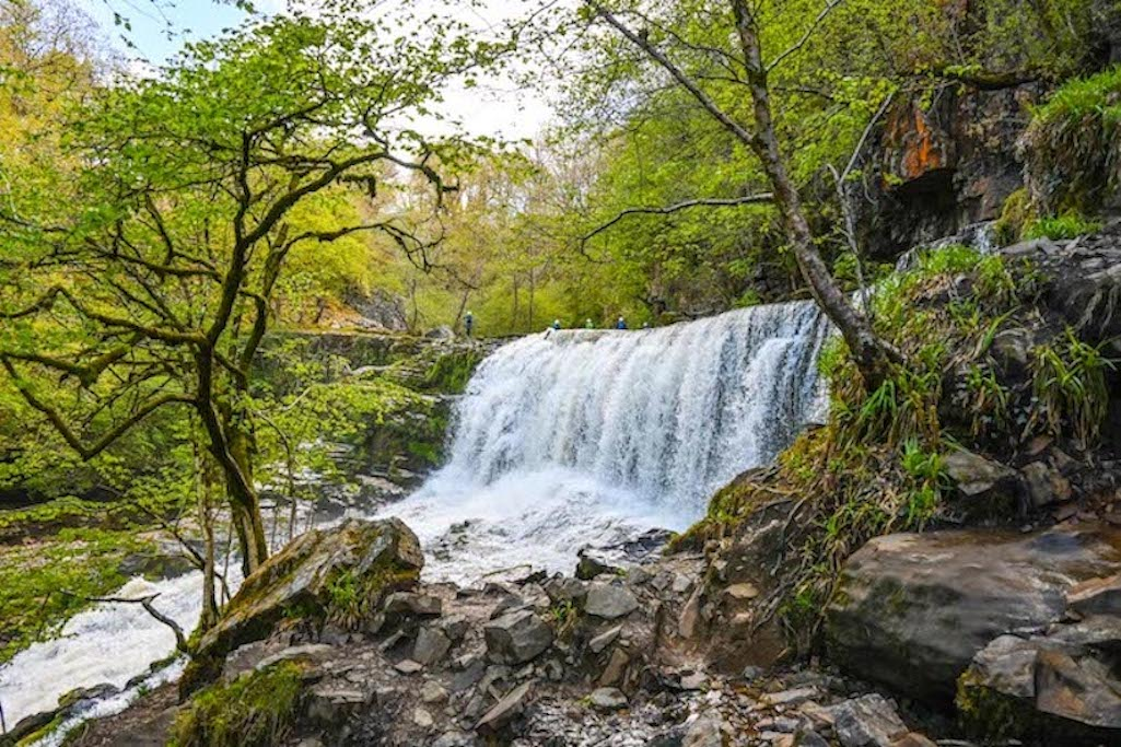 3 Day Wales itinerary, Brecon Beacons Waterfalls