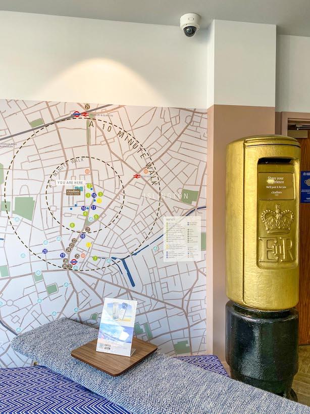 Citadines Islington Review, Post Box