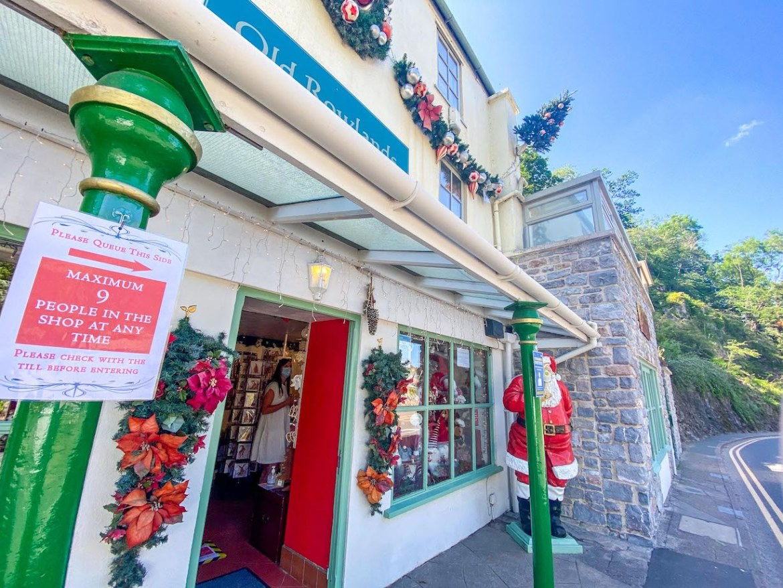 Cheddar Gorge Christmas Shop