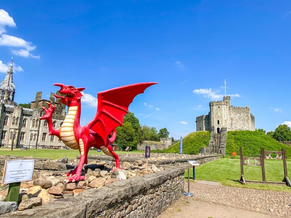 Cardiff day trip from London, Cardiff Castle