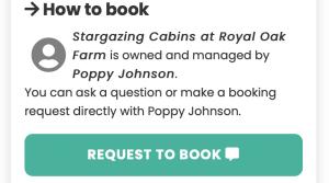 Royal Oak Farm Devon Cabins Booking