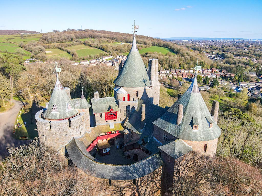 Cardiff day trip from London, Castle Coch