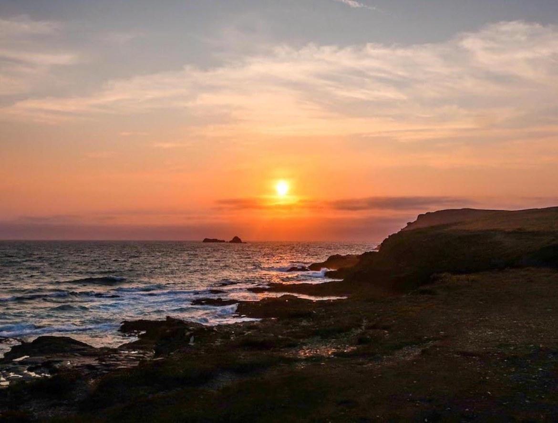Cornwall Road Trip, sunset