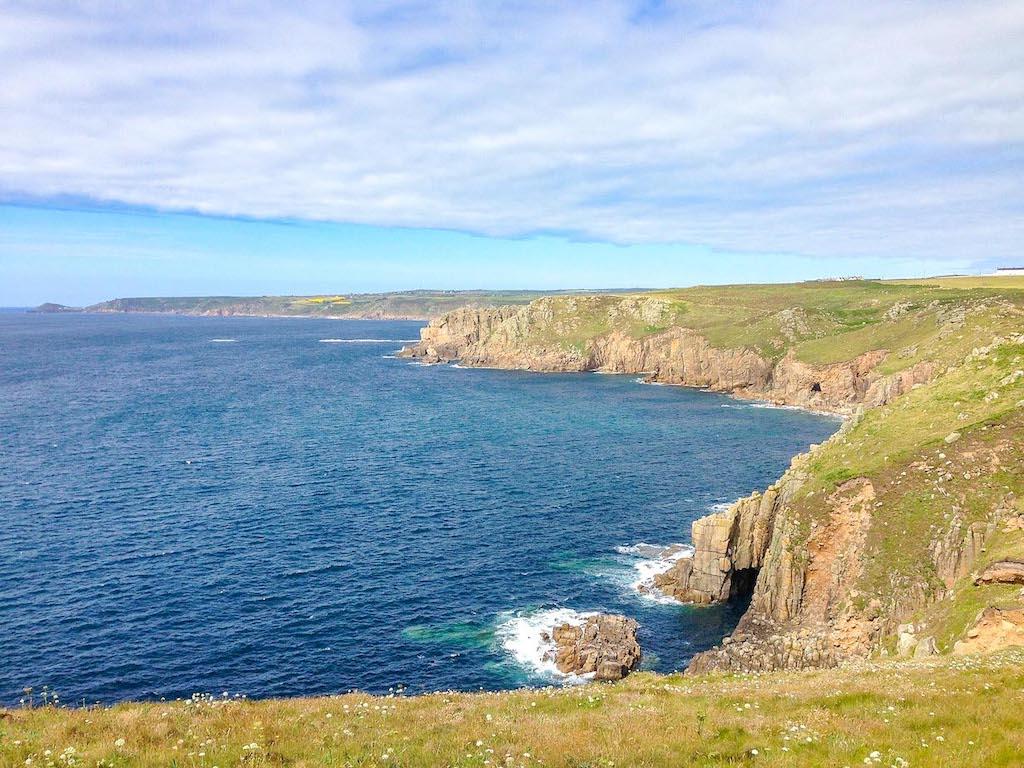 Cornwall Road Trip Lands End