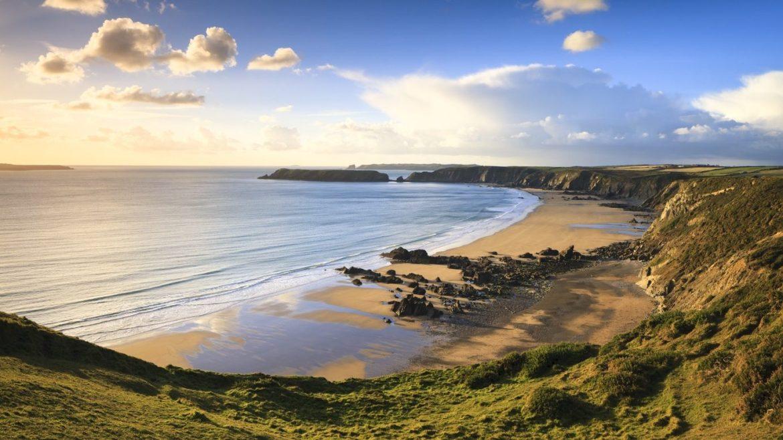 Best beaches in Pembrokeshire, Marloe Sands
