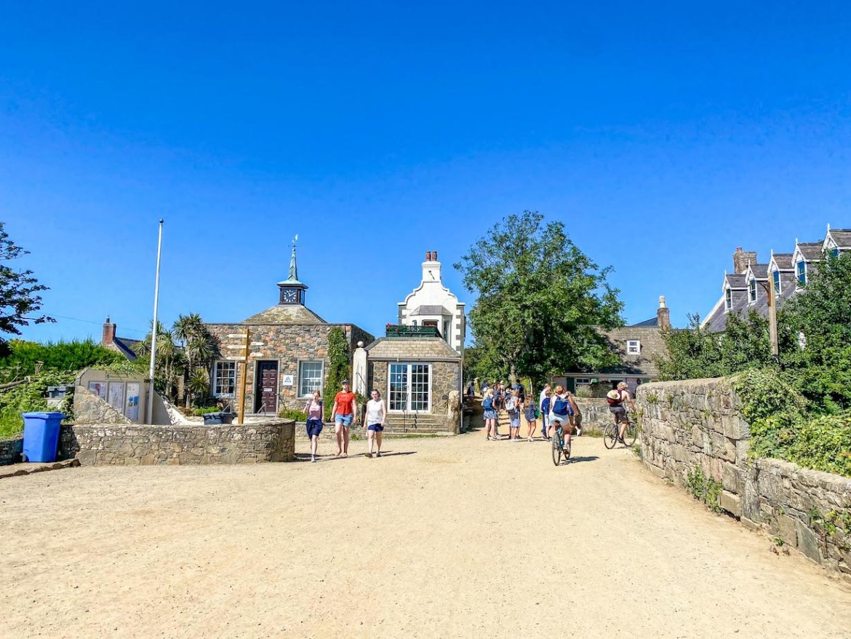 Guernsey itinerary, sark island