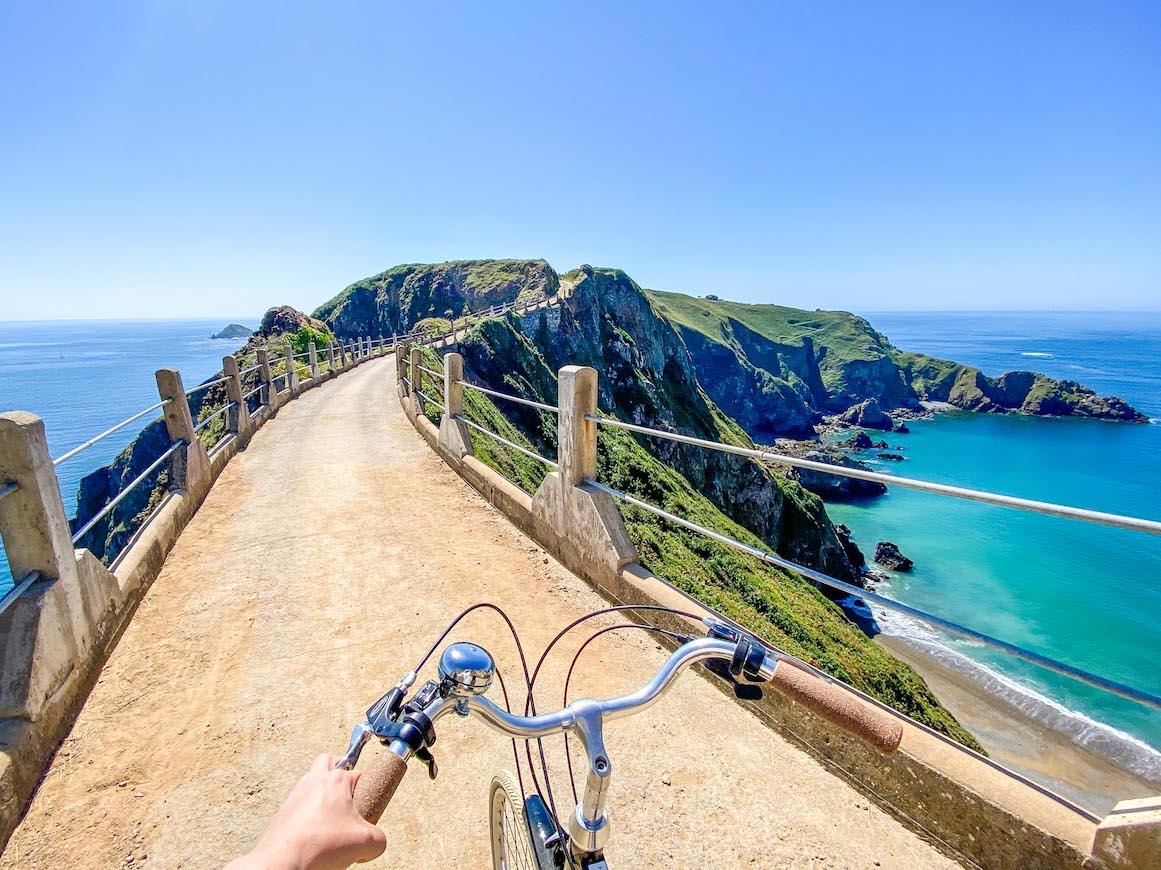 Guernsey itinerary, Sark Island Bike Ride