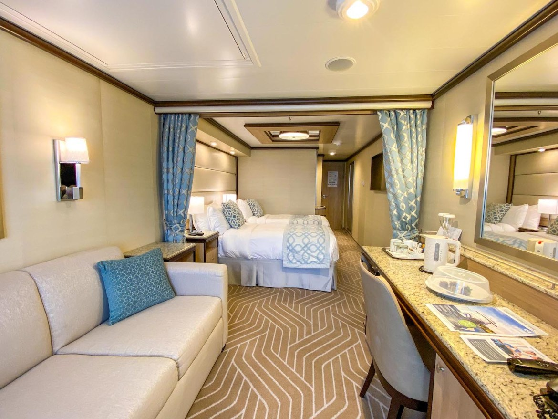 Princess Cruises from Southampton, mini suite stateroom