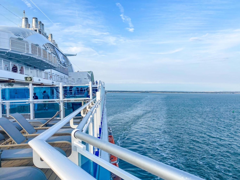 Princess Cruises from Southampton, Sky Princess sailing from Southampton