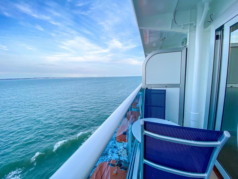 Princess Cruises from Southampton, balcony room