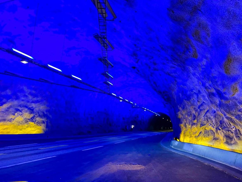 Norway road trip, Laerdalstunnelen