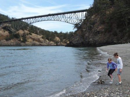 The bridge at Deception Pass State Park