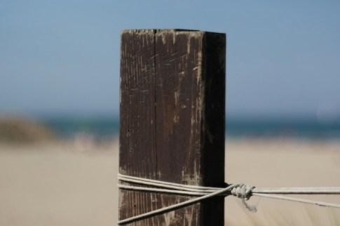 La spiaggia di Rimini in inverno