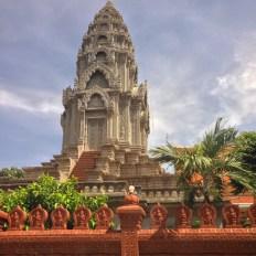 Un tempio a Phnom Penh