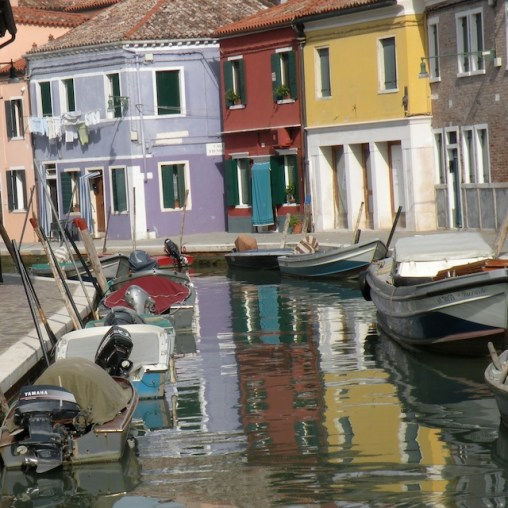 Burano through the looking glass
