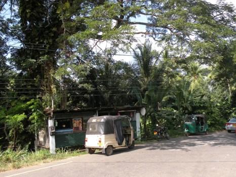 Handiyas - always a tree, a kade, a 3-wheeler stand