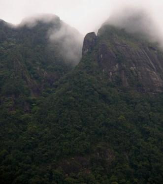 A mist wraithed Corbet's Gap