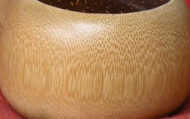 The lovely grain of wood