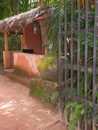 Gate and Veranda