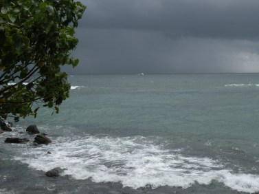 Oncoming storm, Unawatuna