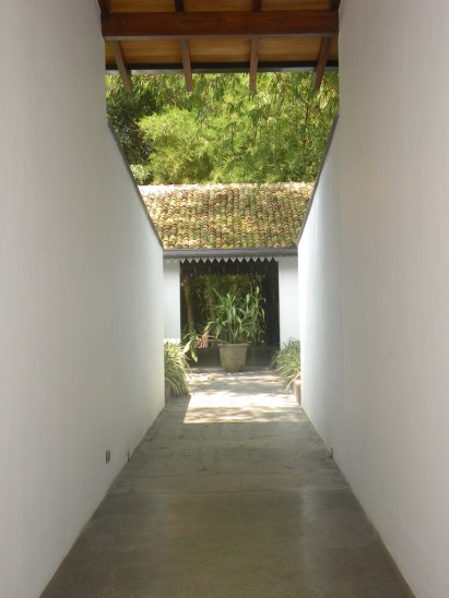 Cool white corridores