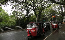 In every town, in every city, the ubiquitous Tuktuks