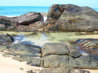 Rockpool at Low Tide