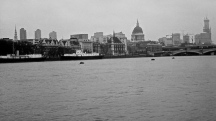 Across the Thames to St. Paul's, London