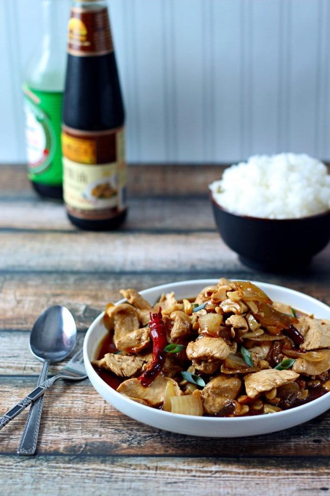 Thai Chicken Cashews Wanderlust Kitchen