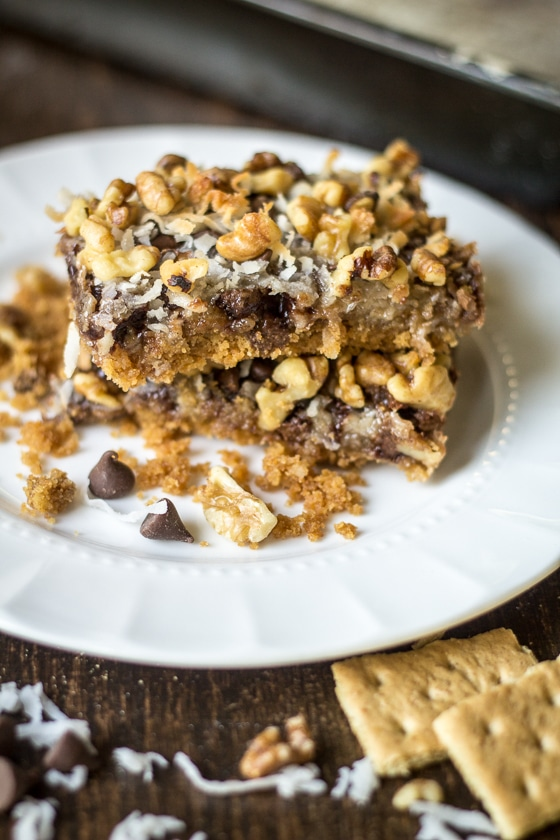 Vegan Magic Cookie Bars The Wanderlust Kitchen