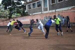Resisted sprinting in Nairobi