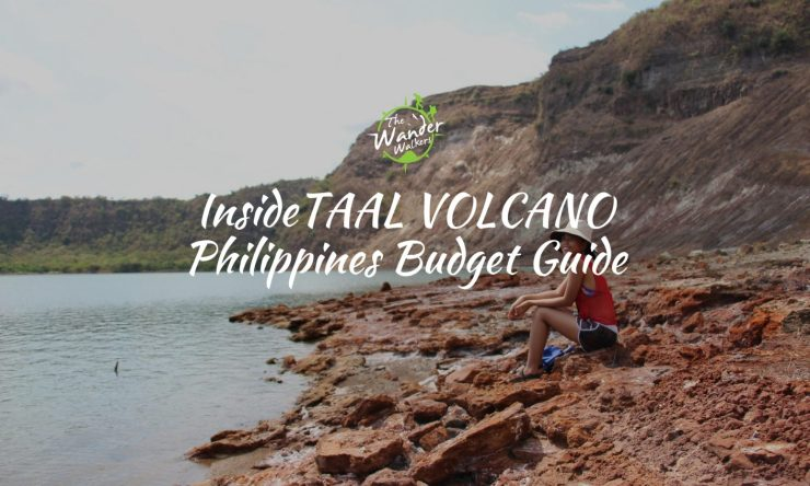 Inner Lake of Taal Volcano for less than Php1K Budget