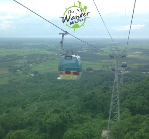 Cable Car ride to Black Virgin Mountain