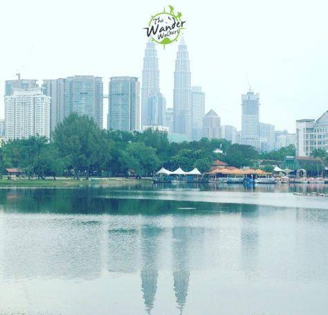 View of Kuala Lumpur from Titiwangsa Park