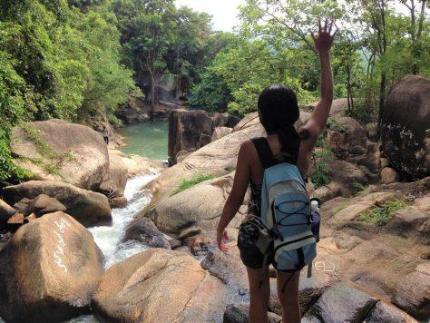 Magical 6 levels of waterfalls of Suoi Da