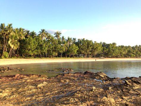 View of Sabang Beach - Backpacking Palawan