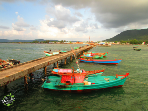 Phu Quoc is rich in local culture. This port in the fisheman village of Ham Ninh is great for observing the locals.