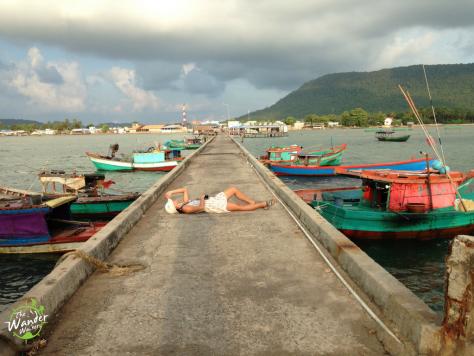 Ham Ninh Fisherman's wharf. Phu Quoc Itinerary