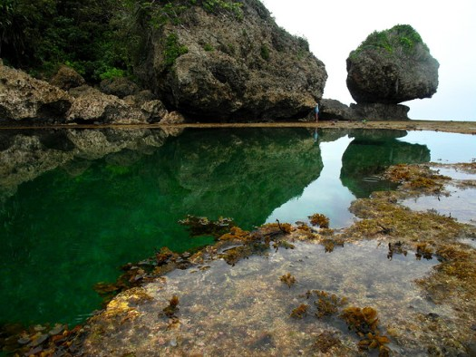 Magpupungko Rock Pools by Yidian Cheow
