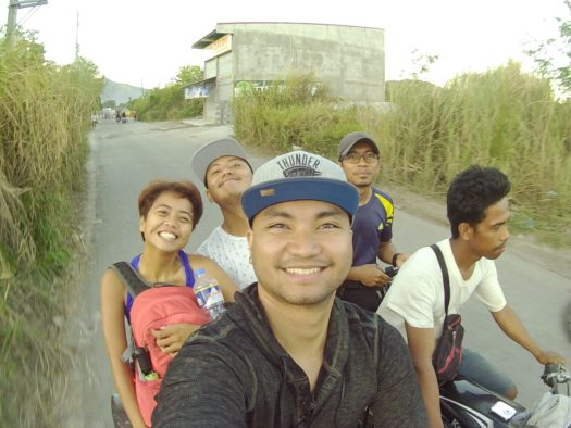 The roofless tricycle to Puray Proper.
