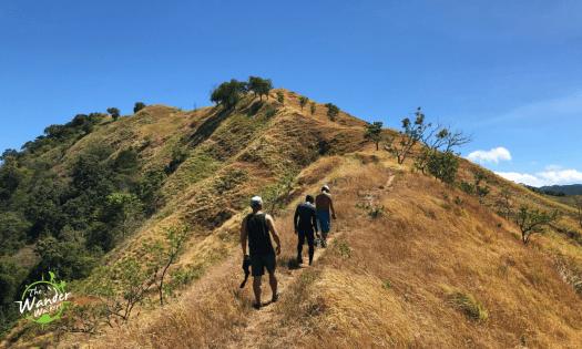 Final assault to Mt. Malac's grassland summit