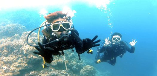 Scuba diving for the first time!