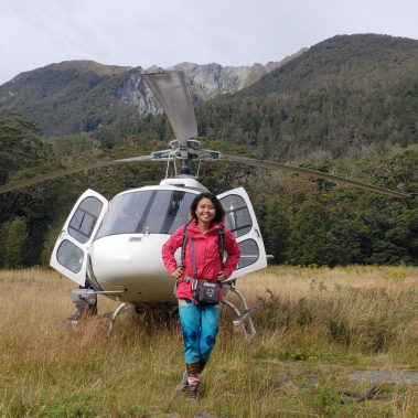 Had to ride a helicopter when Milford road got destroyed by strong rains!