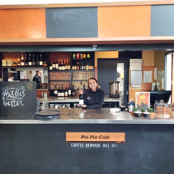 Pio-pio cafe serving coffee and drinks all day!