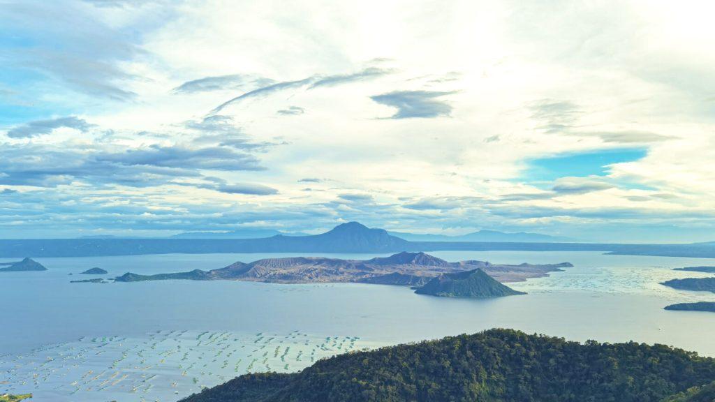 View of Taal Volcano from Starbucks Domicillo