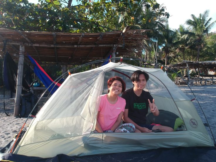 Camping in Kaynipa Cove with our Big Agnes Tent