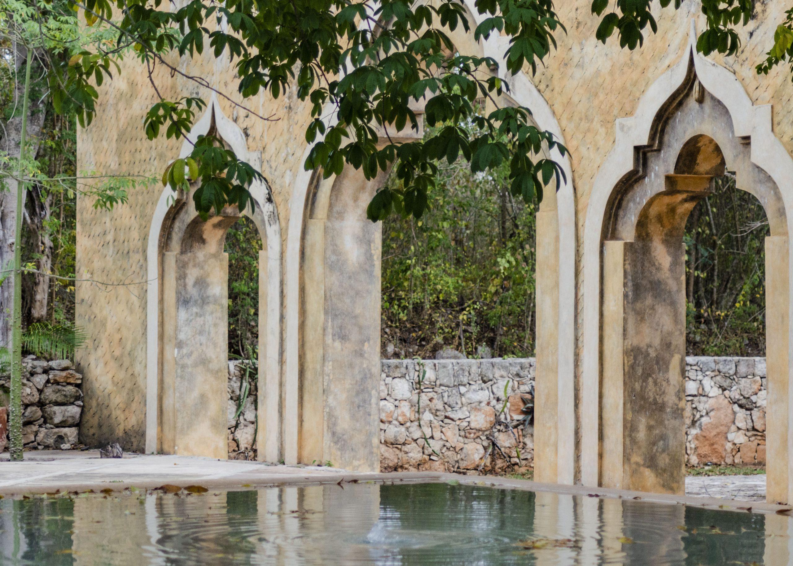 Hacienda Ochil Fountain